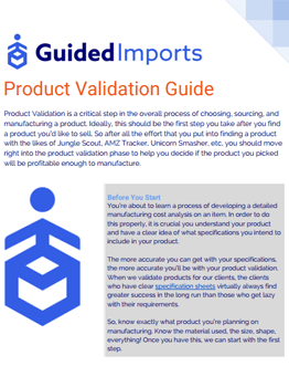 Product-Validation-Guide
