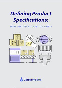 Defining Product Specifications